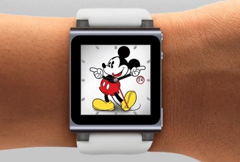 ipad nano montres