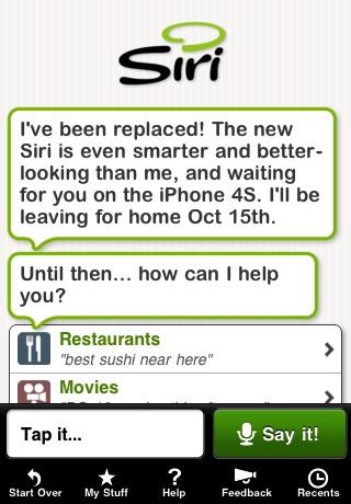 Siri iOS