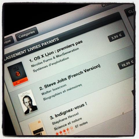 os x lion premiers pas iBookstore