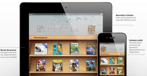 Kiosque iOS 5