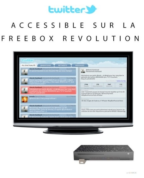 Freebox twitter