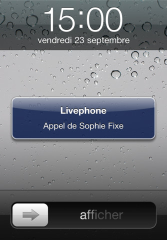 neuftalk sur iphone