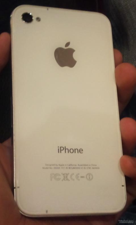 iPhone 4 plastique