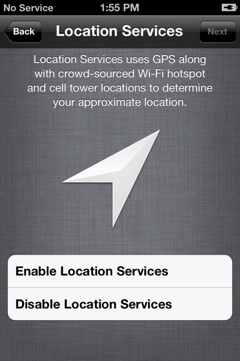Localisation iOS 5