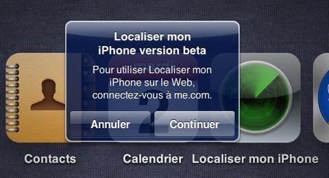 iCloud Localiser mon iPhone