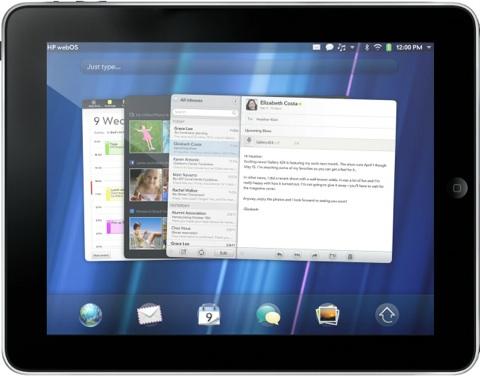 iPad web OS