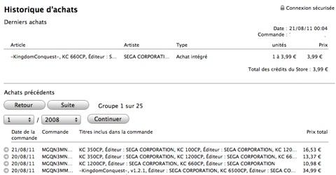 piratage iTunes Store