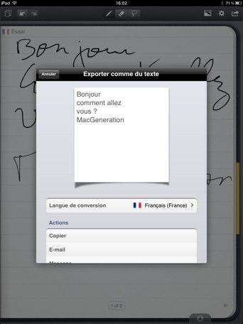 MyScript Notes Mobile