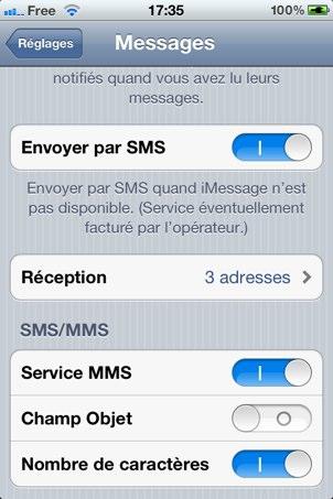 Free Mobile Un Mms Active La Data Sur Le Forfait à 2 Igeneration