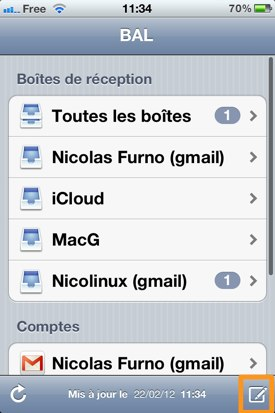 astuce brouillon mail