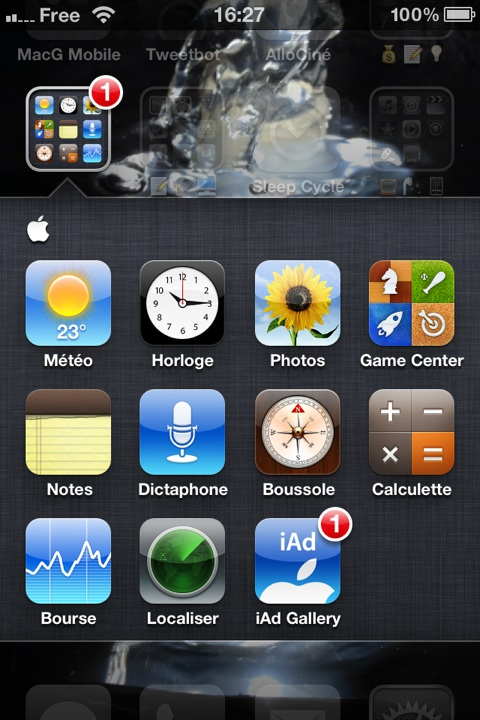 applications Apple iOS