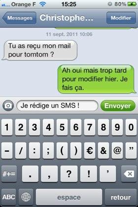 iMessage/SMS