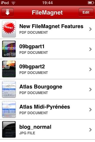 filemagnet-interface