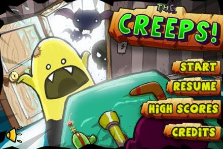 The Creeps accueil